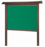 屋根付簡易型屋外掲示板