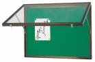アルミ製ふた付はね上式ポスターケース(屋内用)HK-Ⅱ-34BG