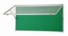 アルミ製ハネ上げ式ポスターケース 壁付型 HKN36SK